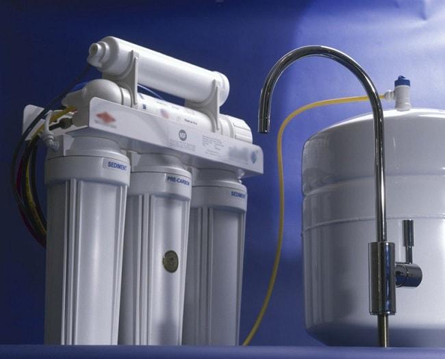 Фильтр для воды на кухне