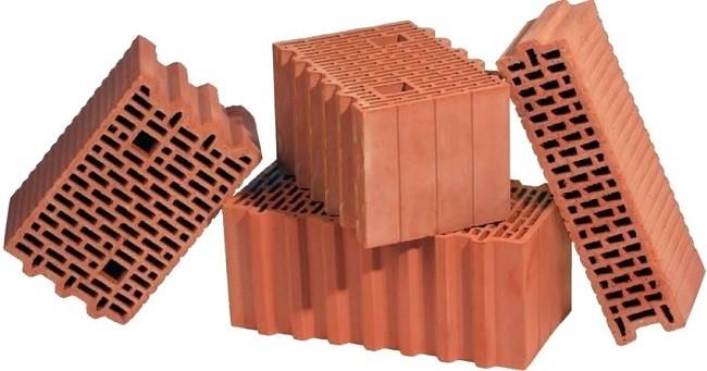 Блоки из поризованной керамики
